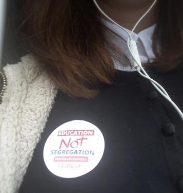 Campaigning against grammar schools